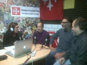 A parlare di Lubit Linux in una radio pisana.